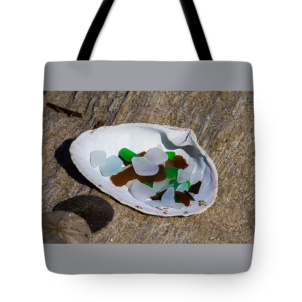 Sea Glass Treasure  Tote Bag
