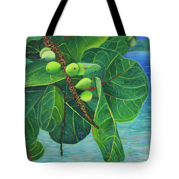 Sea Grapes Tote Bag