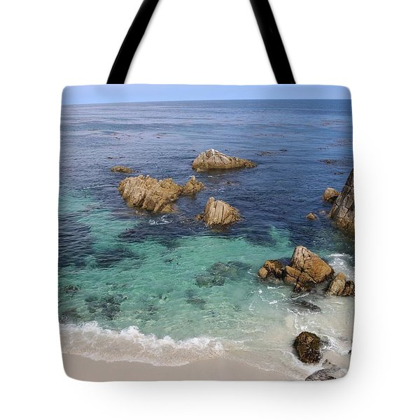 Sea Green  Tote Bag by Christy Pooschke