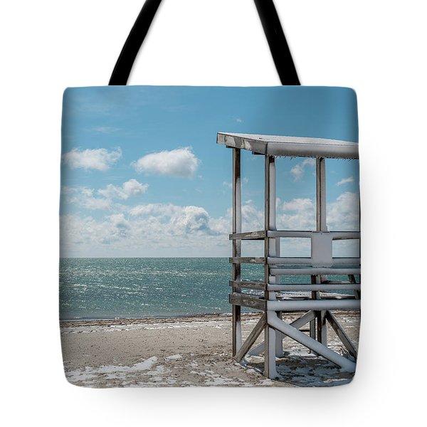 Sea Gull Beach #2 Tote Bag