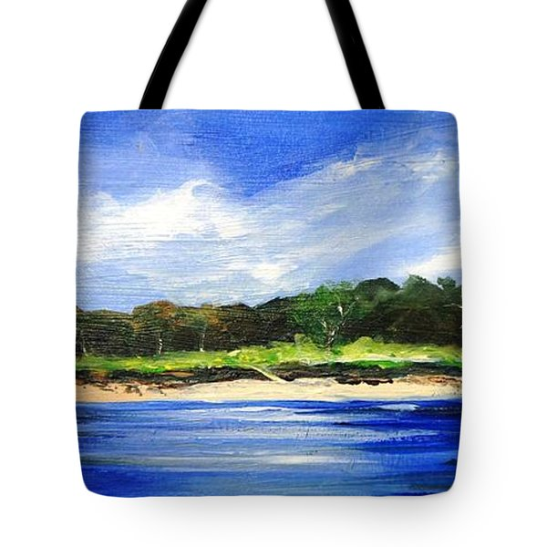 Sea Hill Houses - Original Sold Tote Bag