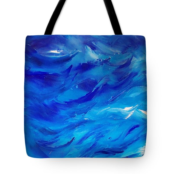 Sea I Tote Bag