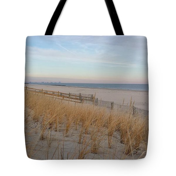 Sea Isle City, N J, Beach Tote Bag