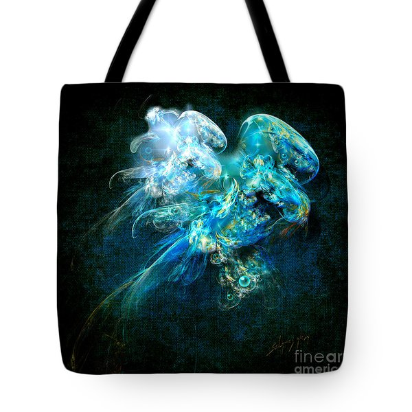 Sea Jellyfish Tote Bag
