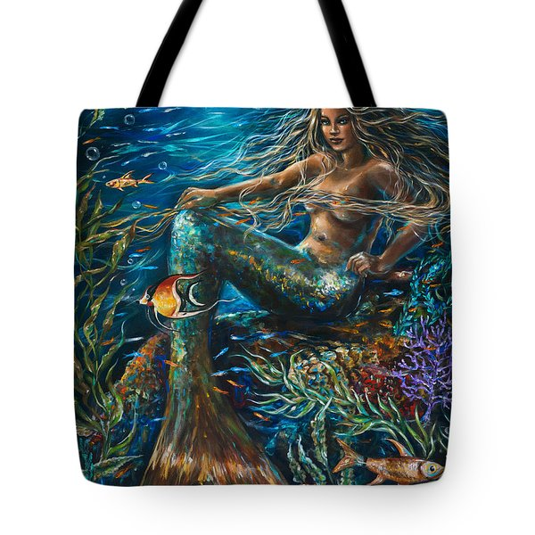 Sea Jewels Mermaid Tote Bag