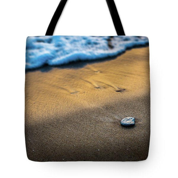 Sea Layers Of Colors Tote Bag