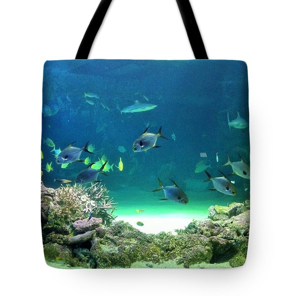 Sea Life Tote Bag by Kay Gilley