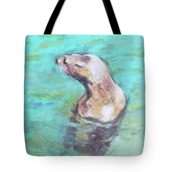 Sea Lion Tote Bag by Yoshiko Mishina