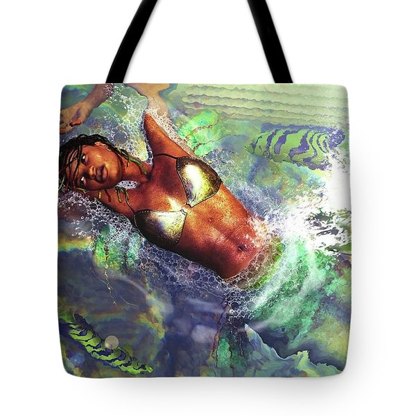 Sea Lioness Tote Bag