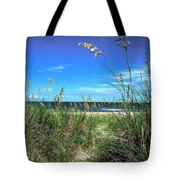 Sea Oat Dunes 11d Tote Bag