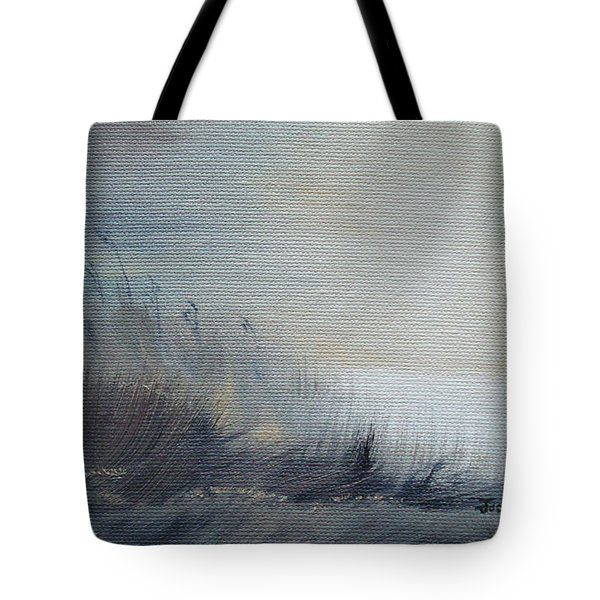 Tote Bag featuring the painting Sea Oats by Judith Rhue