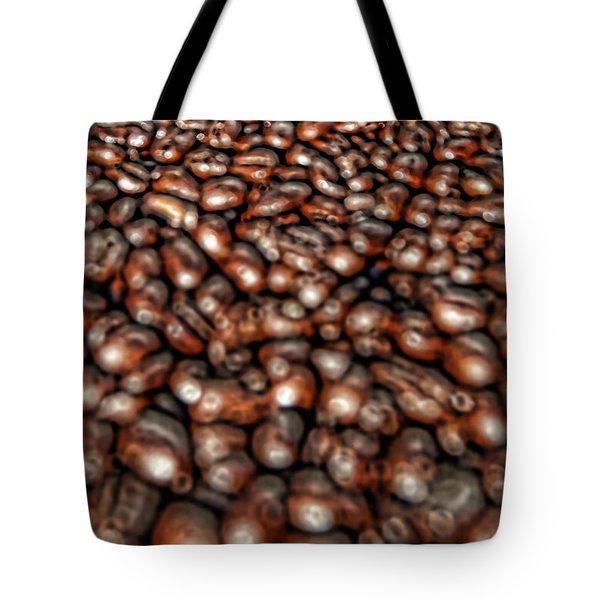Sea Of Beans Tote Bag by Gordon Dean II