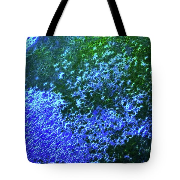 Sea Of Blue Tote Bag