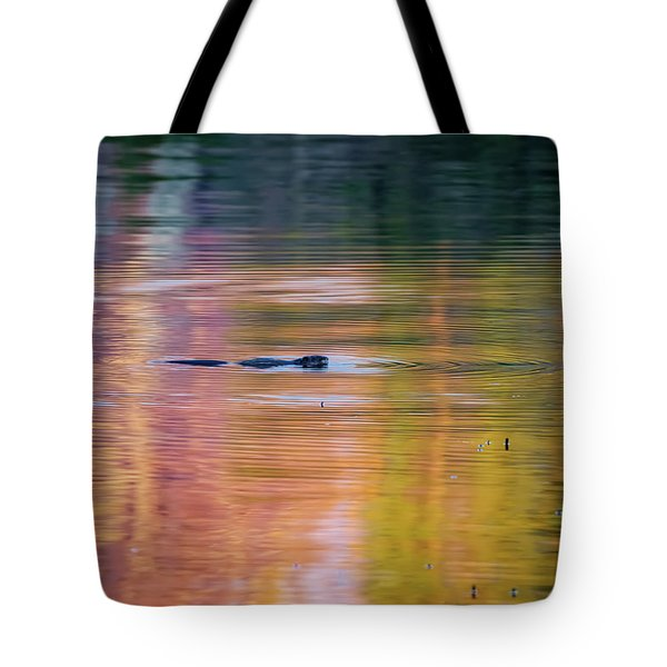 Tote Bag featuring the photograph Sea Of Color by Bill Wakeley