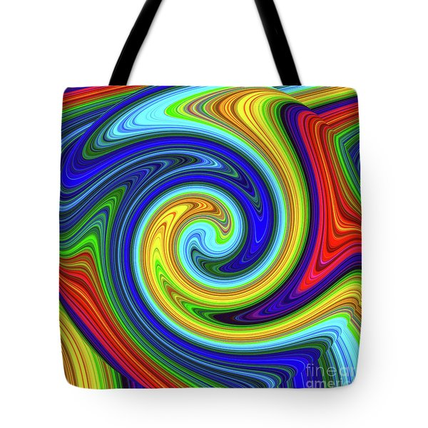 Sea Of Colors Tote Bag