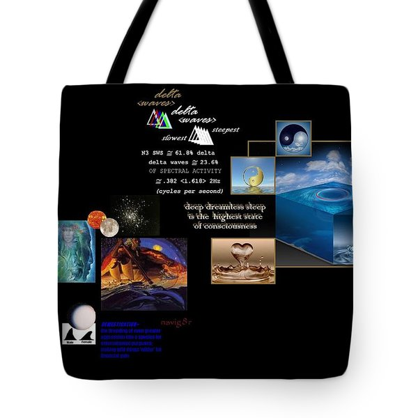 Seas Of Dreams  Tote Bag