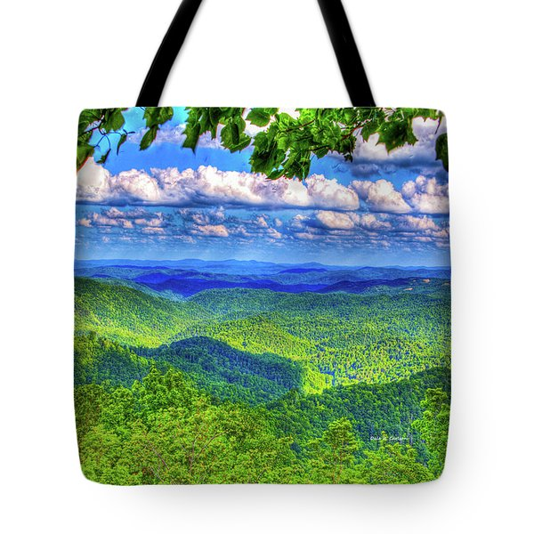 Sea Of Green Tote Bag