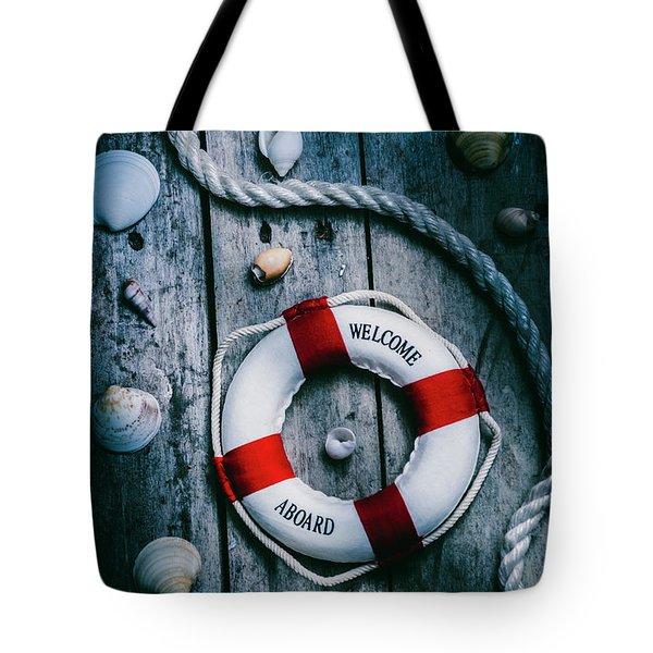 Sea Of Turbulence Tote Bag