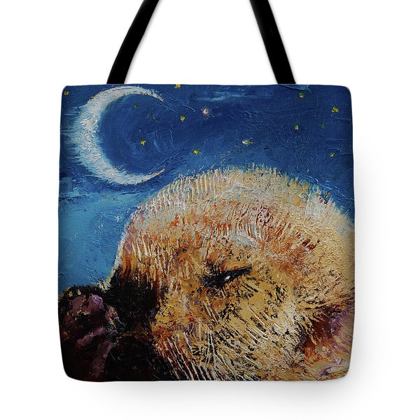 Sea Otter Pup Tote Bag