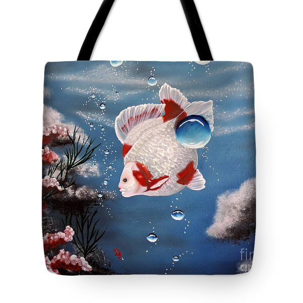 Sea Princess Tote Bag by Dianna Lewis