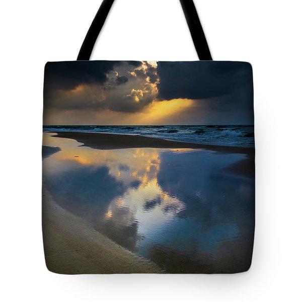 Sea Reflections Tote Bag