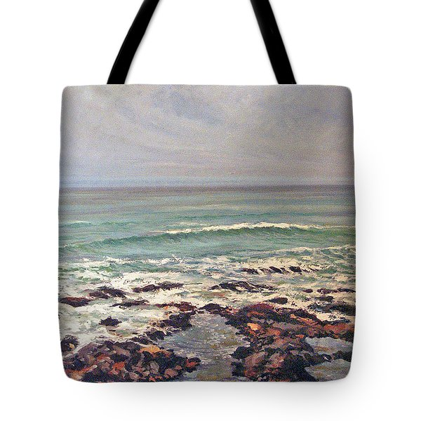Sea Rocks Tote Bag