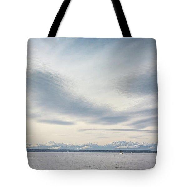 Sea Scene Tote Bag