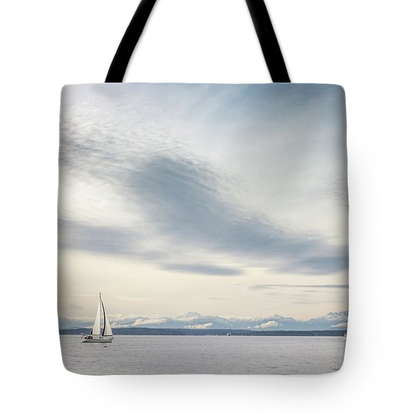 Sea Scene Tote Bag