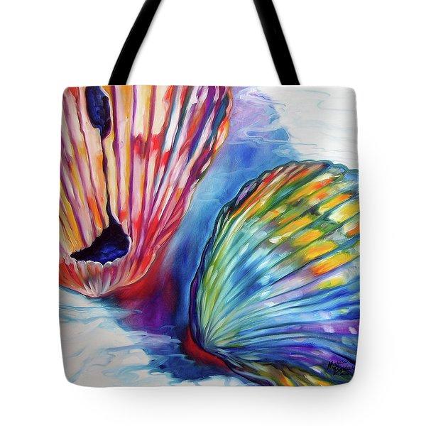 Sea Shell Abstract II Tote Bag