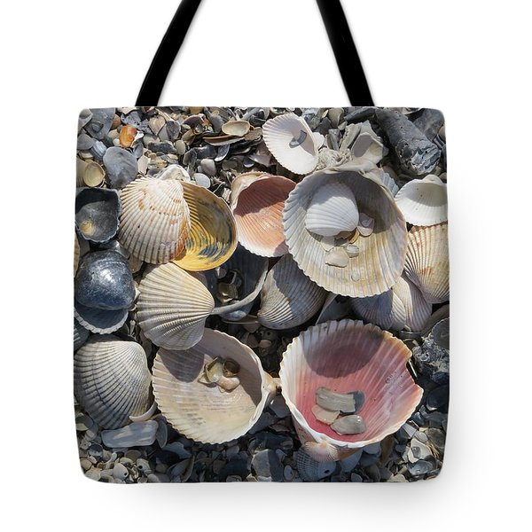 Sea Shell Mozaic Tote Bag