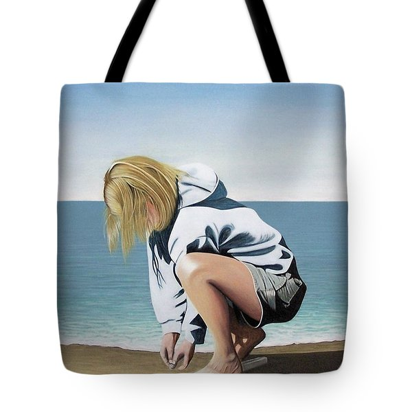 Sea Shells On The Beach Tote Bag