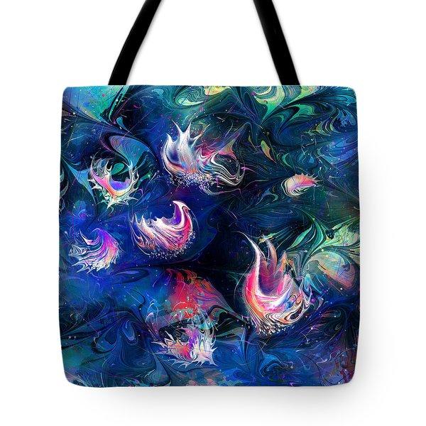 Sea Shells Tote Bag by Rachel Christine Nowicki