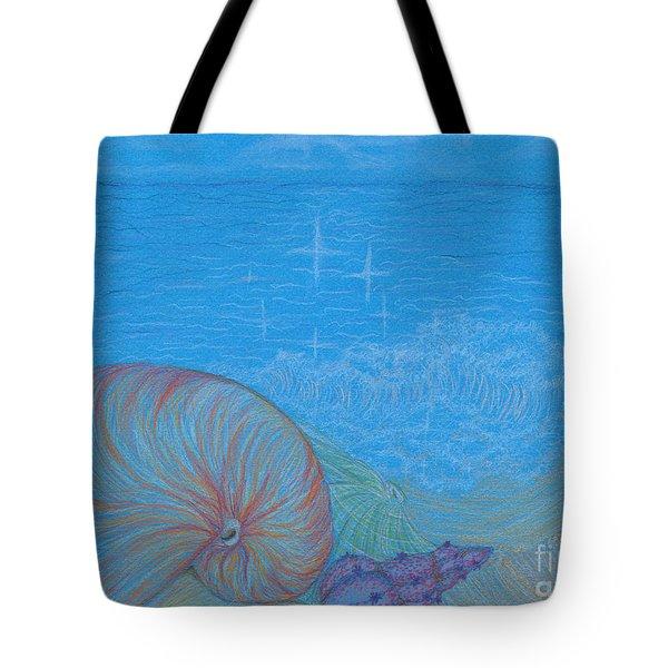 Sea Shore Tote Bag by Kim Sy Ok