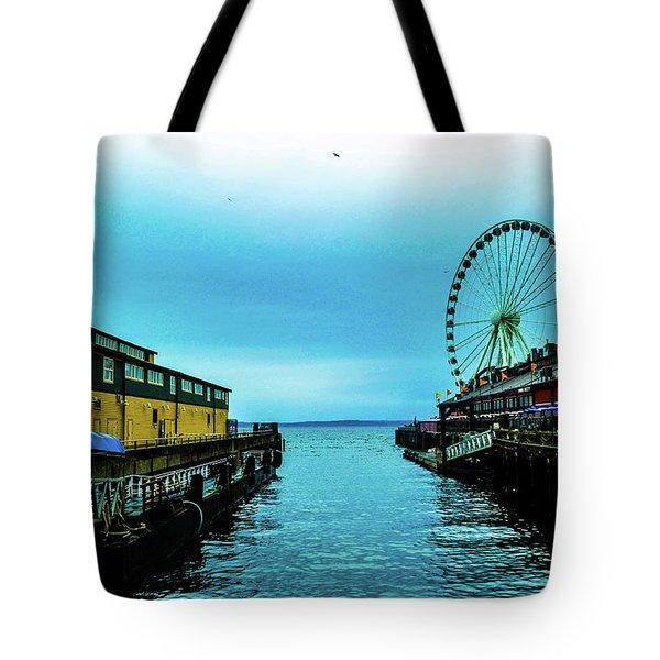 Sea Side, Seattle 2 Tote Bag