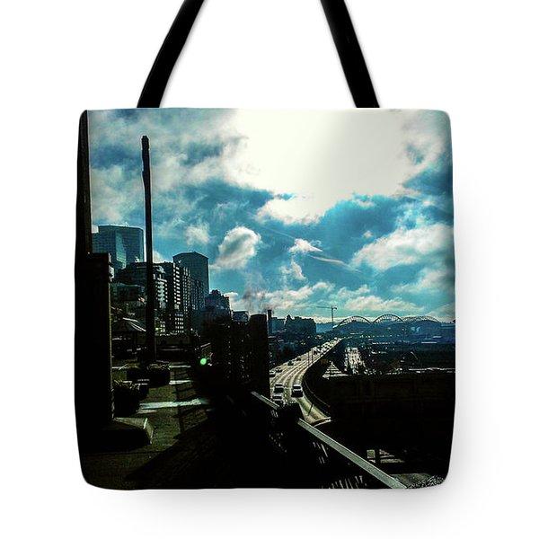 Sea Side, Seattle  Tote Bag