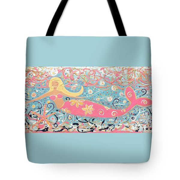 Sea Siren Blondie Tote Bag