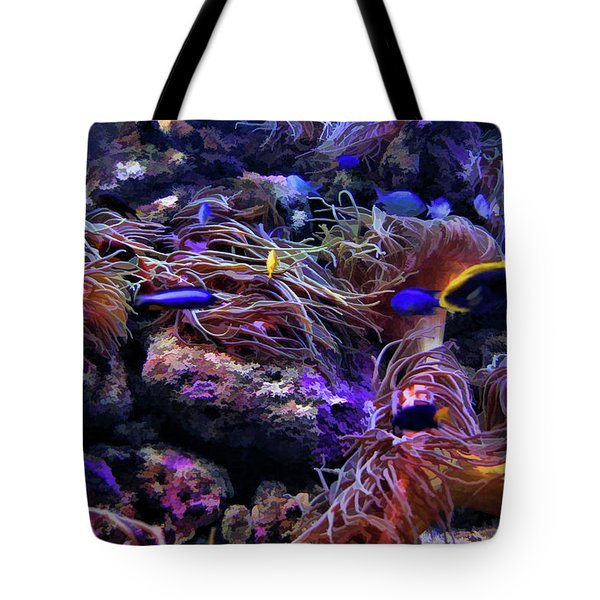 Sea Spaghetti  Tote Bag by Douglas Barnard
