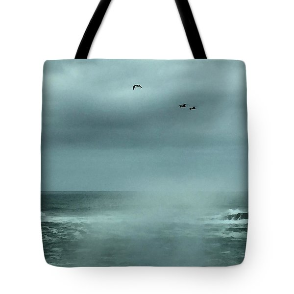 Sea Spray Tote Bag
