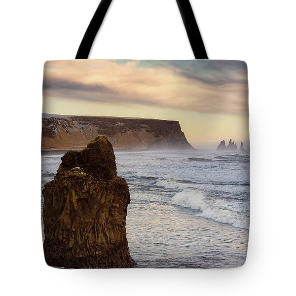 Sea Stack II Tote Bag by Allen Biedrzycki