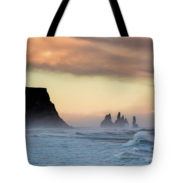 Sea Stacks Tote Bag