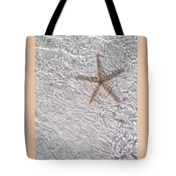 Sea Star 11 Anna Maria Island Tote Bag by Jean Marie Maggi