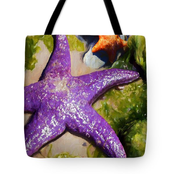 Sea Stars Tote Bag