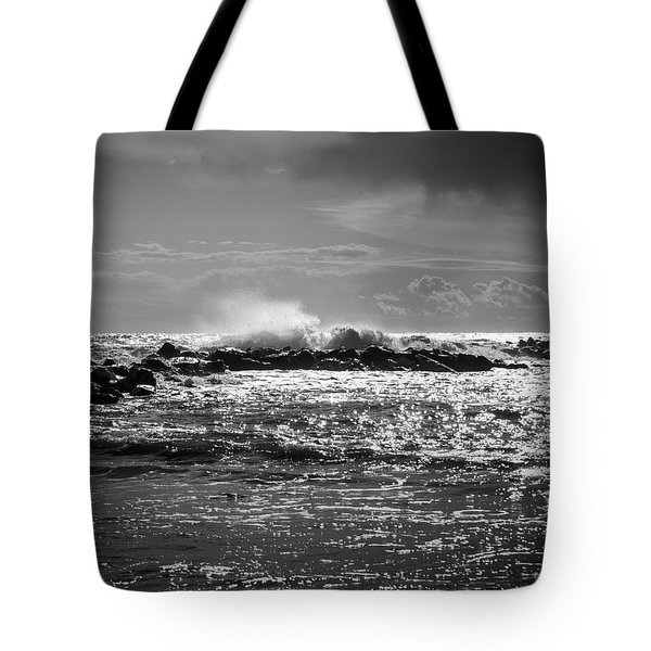Sea Storm Tote Bag