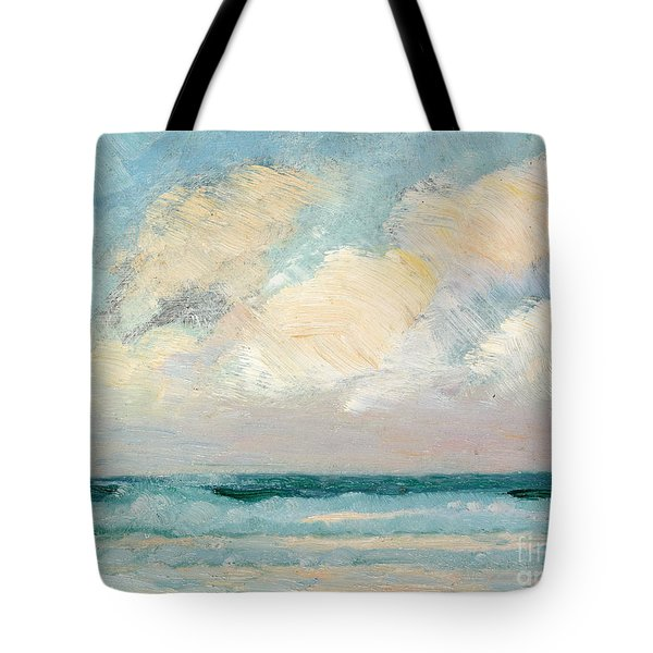 Sea Study - Morning Tote Bag