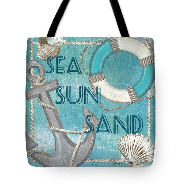 Sea Sun Sand Tote Bag