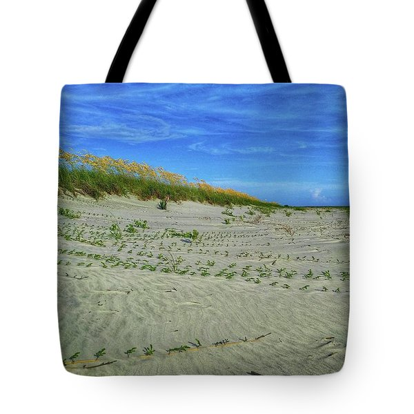 Sea Swept Tote Bag