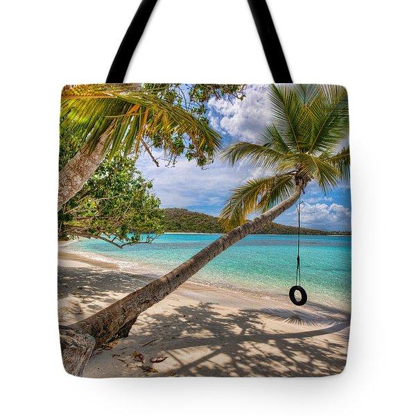 Sea Swing Tote Bag