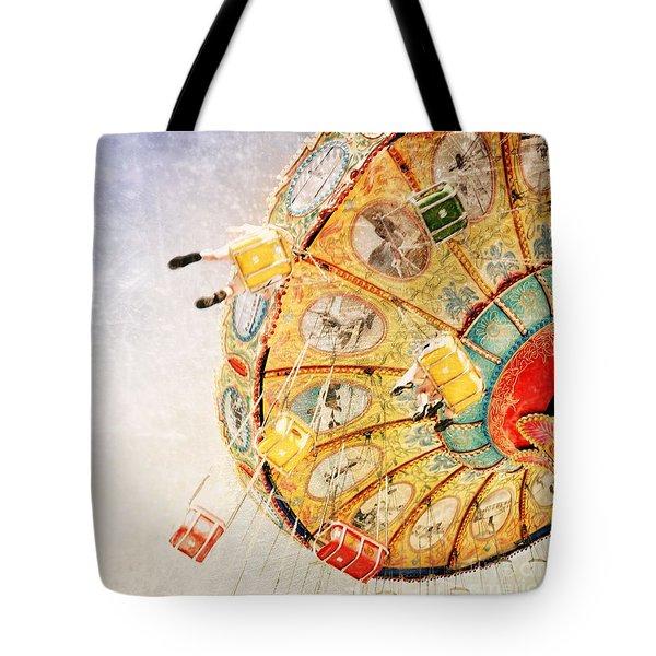 Sea Swings Tote Bag