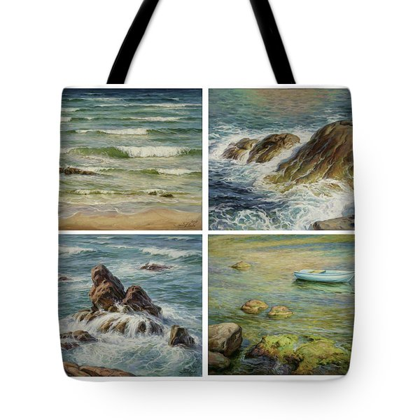 Sea Symphony. Part 1,2,3,4. Tote Bag