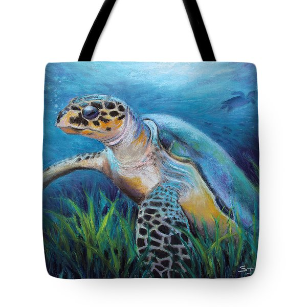 Sea Turtle Cove Tote Bag